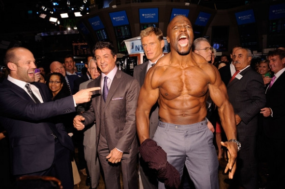 Terry Crews' height, weight and body measurements