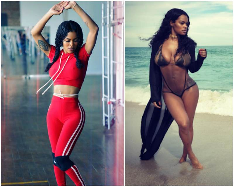 Teyana Taylor's height, weight. Dancing keep her fit