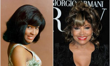 Tina Turner's eyes and hair color