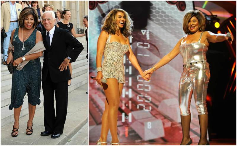 Tina Turner's height, weight  Her legs and figure are still impressive