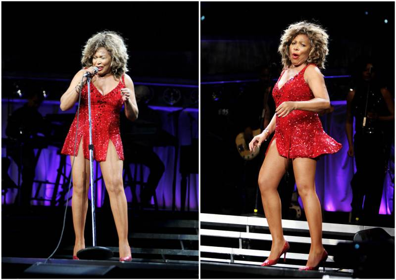Tina Turner's height, weight and body measurements