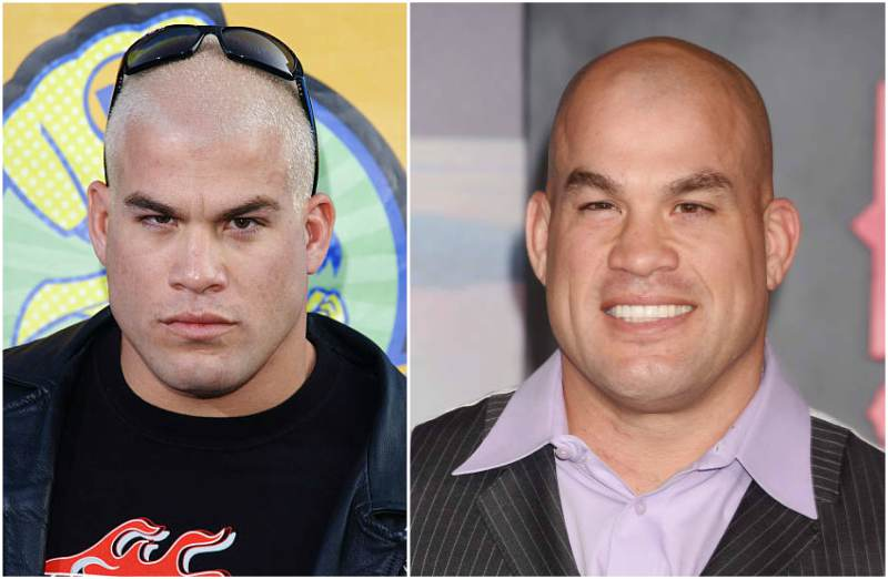 Tito Ortiz's eyes and hair color