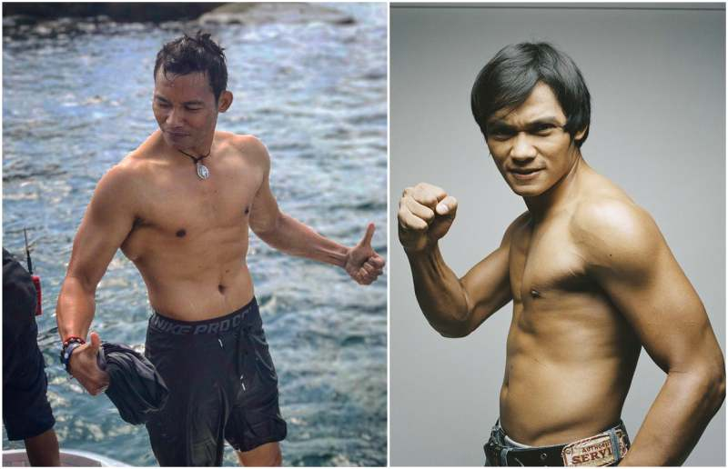 Tony Jaa's height, weight and body measurements