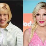 How did her husband stimulate Tori Spelling to get into great shape?
