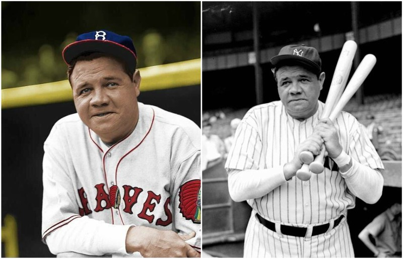 Babe ruth height and weight-1648