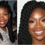 Brandy Norwood and her complicated way toward slender figure