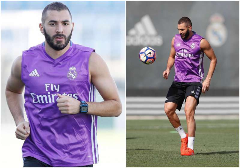 Karim Benzema's height, weight and body measurements