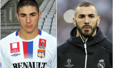 Karim Benzema's eyes and hair color