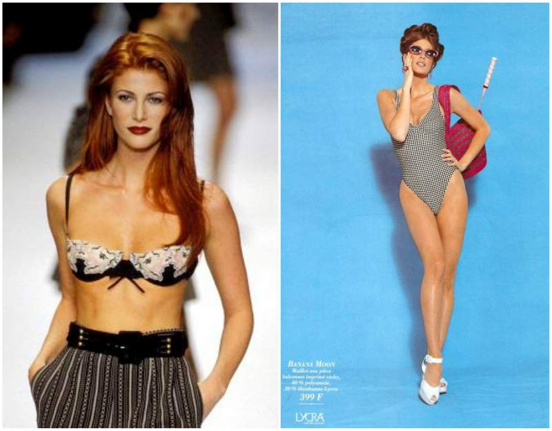 Angie Everhart's height, weight and body measurements
