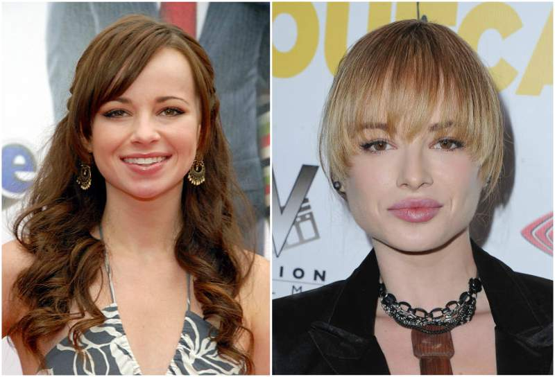Ashley Rickards' eyes and hair color
