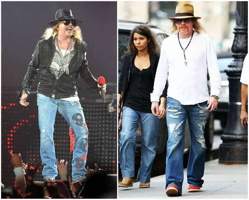 Axl Rose S Height Weight Jokes Motivated Him To Get In Shape