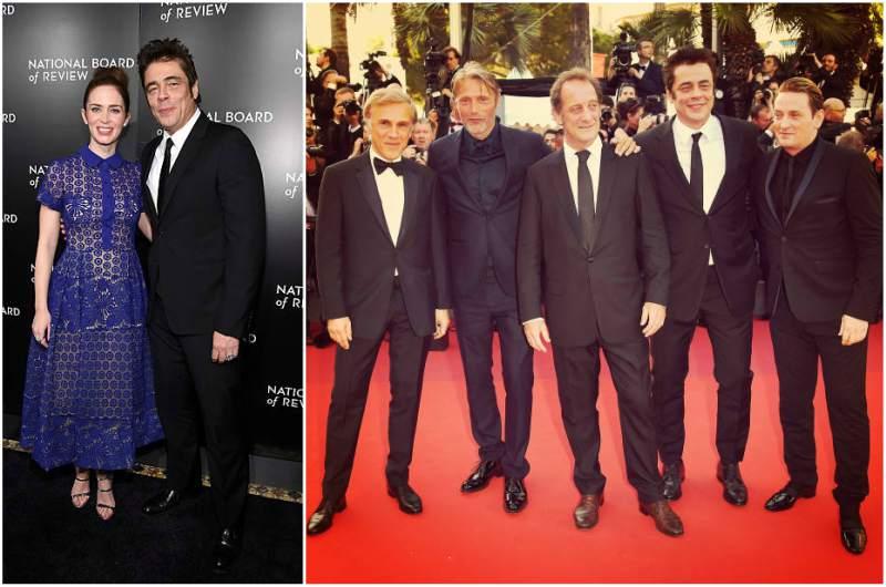 Benicio Del Toro's height, weight and body measurements