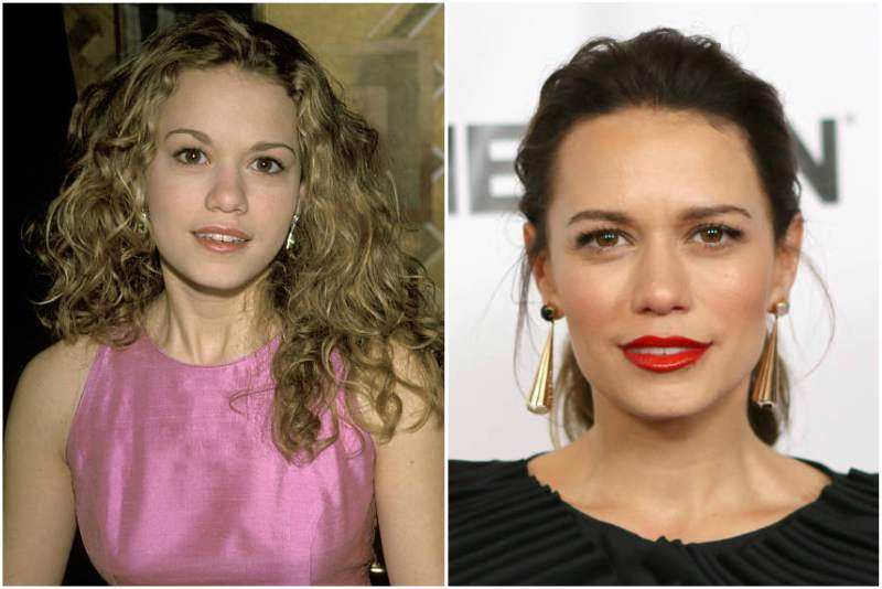 Bethany Joy Lenz's eyes and hair color