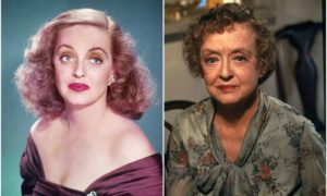 Bette Davis' eyes and hair color