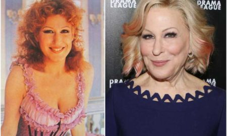 Bette Midler's eyes and hair color