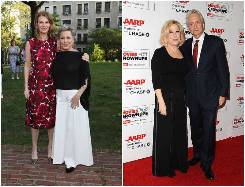 Bette Midler's height, weight and body measurements