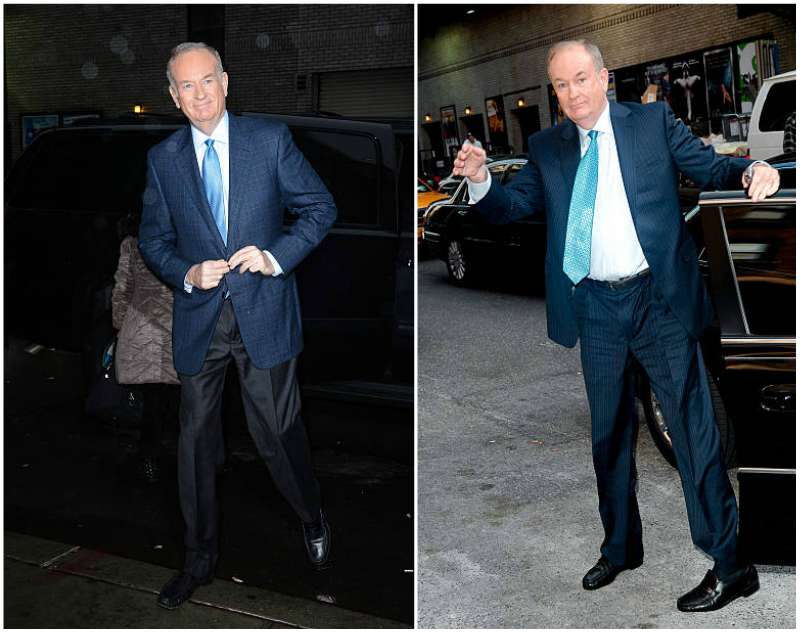 Bill O'Reilly's height, weight and age