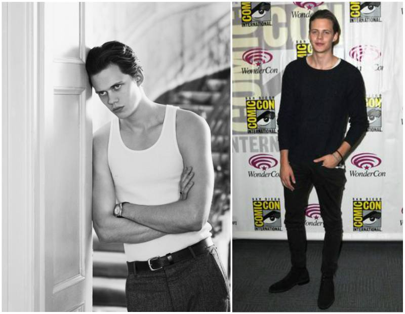 Bill Skarsgard's height, weight and body measurements
