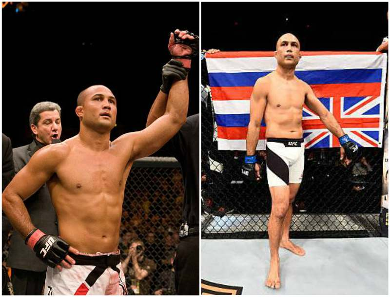 B.J. Penn's height, weight and age