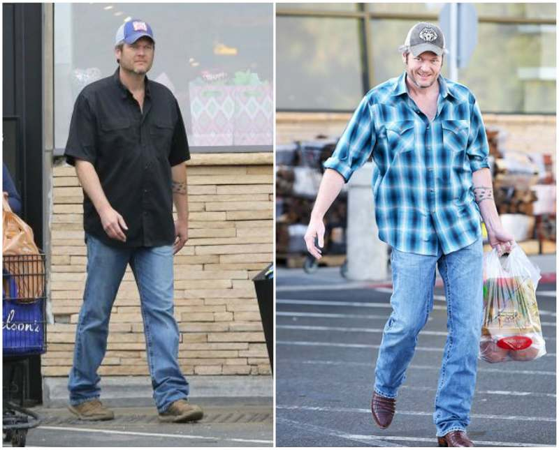 Blake Shelton's height, weight and age