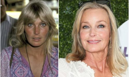 Bo Derek's eyes and hair color