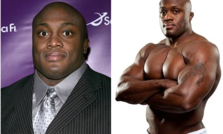 Bobby Lashley's eyes and hair color