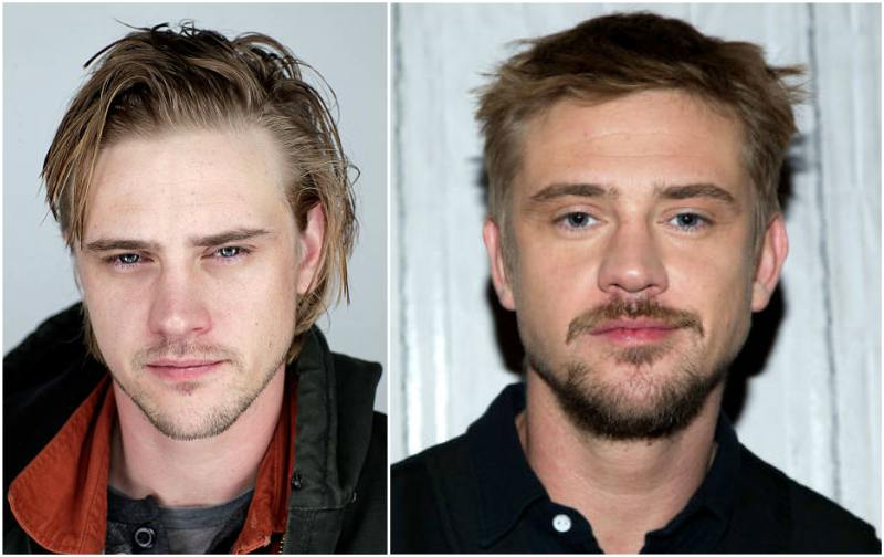 Boyd Holbrook's eyes and hair color