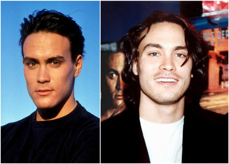 Brandon Lee's eyes and hair color