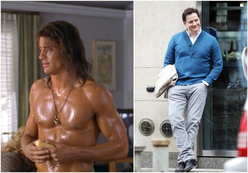 Brendan Fraser's height, weight and age