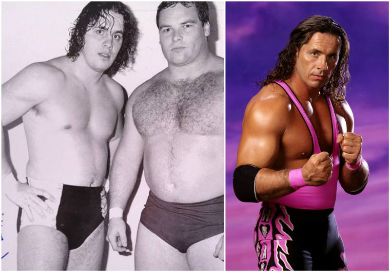 Bret Hart's height, weight and age