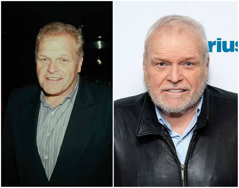 Brian Dennehy's eyes and hair color
