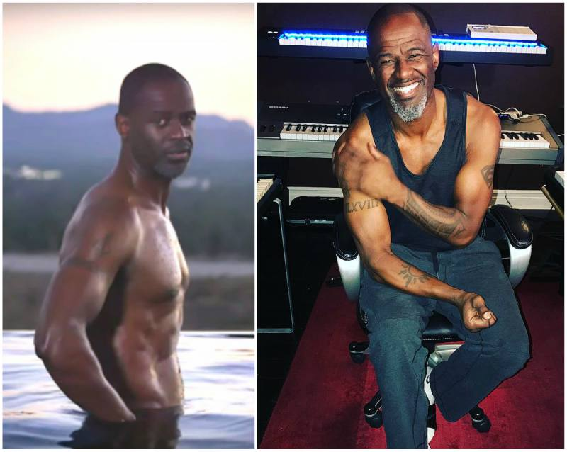 Brian Mcknight's height, weight and age