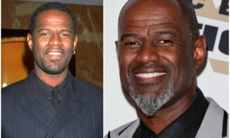 Brian Mcknight's eyes and hair color