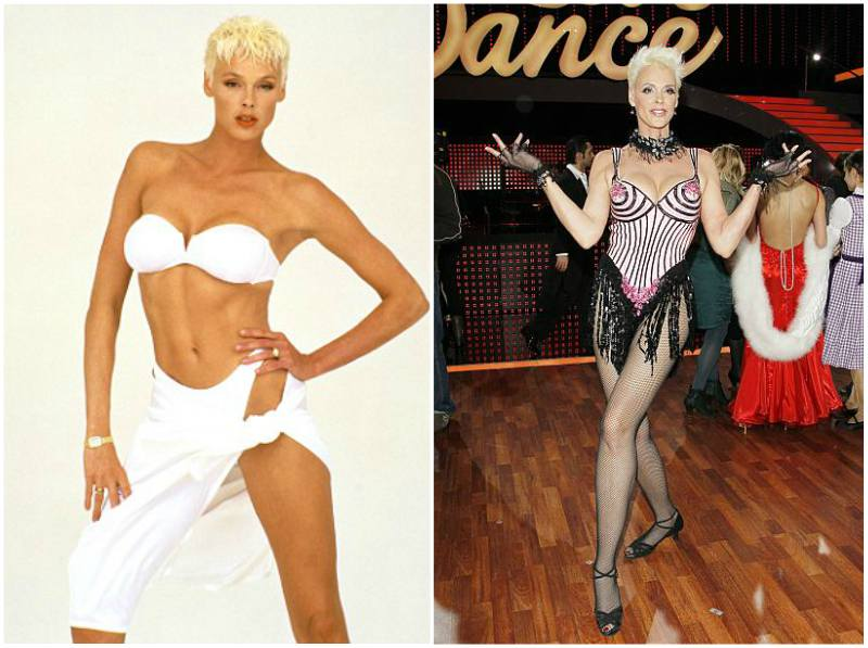 Brigitte Nielsen's height, weight and body measurements
