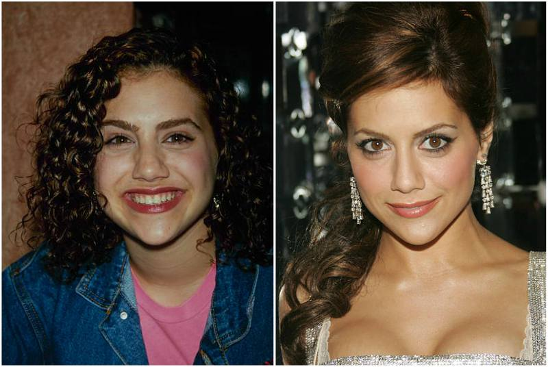 Brittany Murphy's eyes and hair color