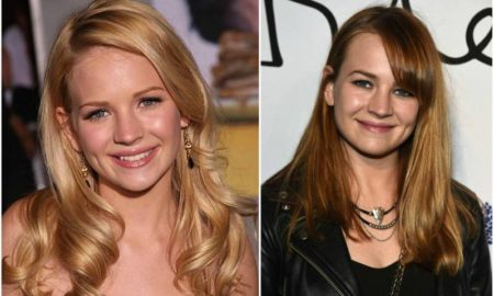 Britt Robertson's eyes and hair color