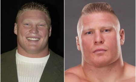 Brock Lesnar's eyes and hair color
