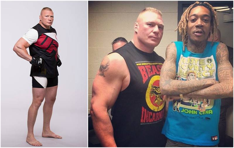 Brock Lesnar's height, weight and body measurements