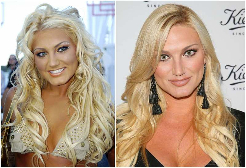Brooke Hogan's eyes and hair color