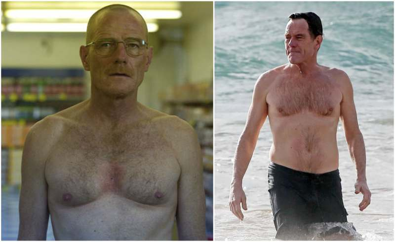 Bryan Cranston's height, weight and body measurements