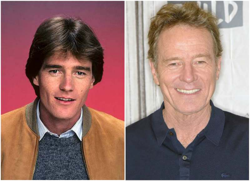 Bryan Cranston's eyes and hair color