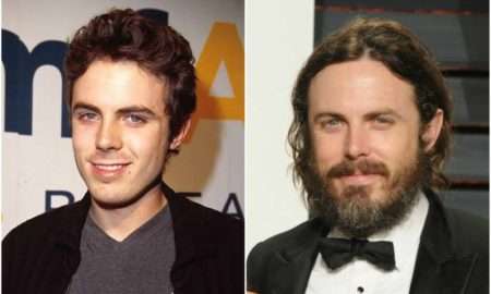 Casey Affleck's eyes and hair color
