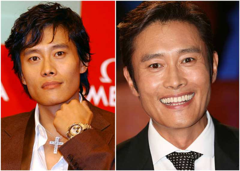 Byung-Hun Lee's eyes and hair color
