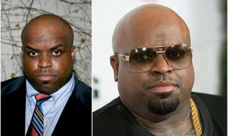 CeeLo Green's eyes and hair color