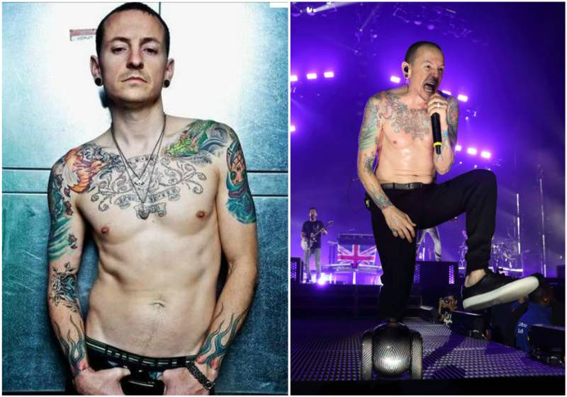 Chester Bennington's height, weight and age