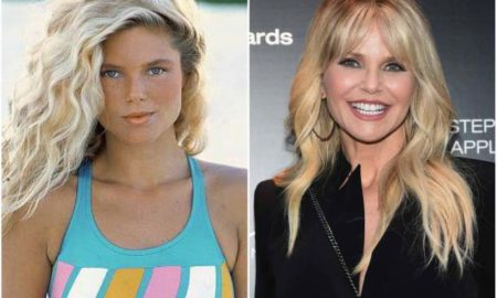 Christie Brinkley's eyes and hair color