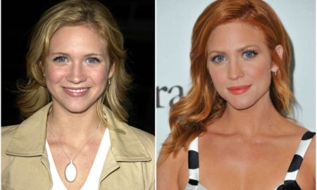 Brittany Snow's eyes and hair color