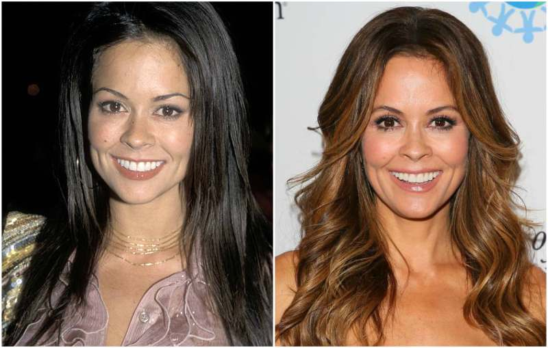 Brooke Burke's eyes and hair color
