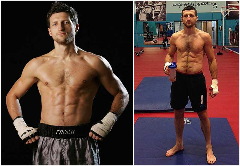 Carl Froch's height, weight and body measurements