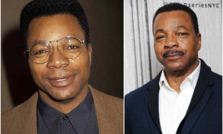 Carl Weathers' eyes and hair color